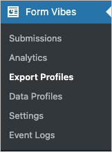 Export Profile